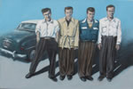 Four Brothers and a Car